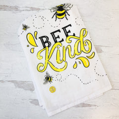 'Bee Kind' Dish Towel by Simply Southern
