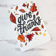 'Give Thanks' Dish Towel by Simply Southern
