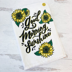 'Good Morning Sunshine' Dish Towel by Simply Southern