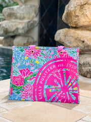 Market Carryall Tote by Lilly Pulitzer - Bunny Business