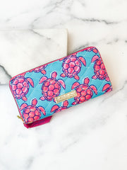 Printed Phone Wallet by Simply Southern - Turtles