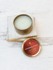 Simmered Cider Travel Tin Candle by Thymes