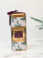 Frasier Fir Stacking Present Tins by Thymes