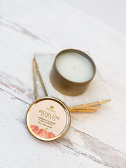 Heirlum Pumpkin Travel Tin Candle by Thymes