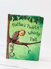 Mattie's Twirly Whirly Tail Book by Jellycat