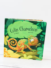 Colin Chameleon Board Book by Sue Samuels