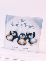 The Naughty Penguins by Kirsten Irving by Jellycat