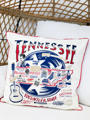 'Tennessee' Throw Pillow by PBK