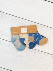 Newborn Sock Set - Sea Blue by PBK