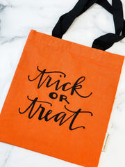 'Trick Or Treat' Small Tote Bag by PBK