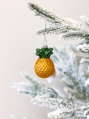 Pineapple Glass Ornament by PBK