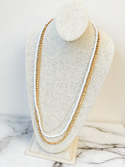 Austin Multi Layered Long Necklace