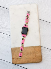 Slim Printed Watch Band by Simply Southern - Bee