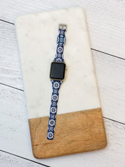 Slim Printed Watch Band by Simply Southern - Ogee