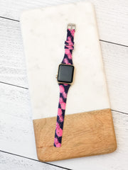 Slim Printed Watch Band by Simply Southern - Pineapple