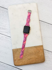Slim Printed Watch Band by Simply Southern - Turtles