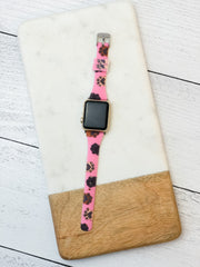 Slim Printed Watch Band by Simply Southern - Paws