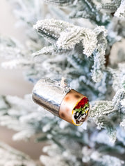 Burrito Glass Ornament by PBK
