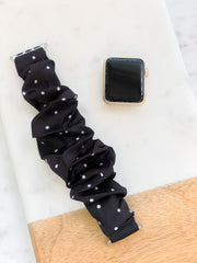 Scrunchy Watch Band by Simply Southern - Dots