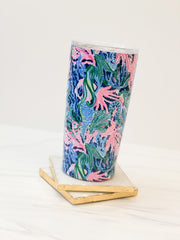 Stainless Steel Thermal Mug by Lilly Pulitzer - Bringing Mermaid Back