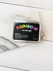 Rainbow On-the-Go Scratch Off Paper