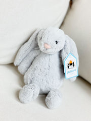Small Bashful Bunny by Jellycat - Grey