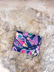 Printed Trifold Wallet by Simply Southern - Butterflies