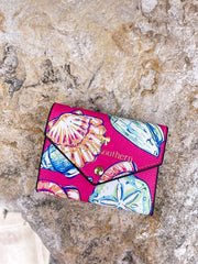 Printed Trifold Wallet by Simply Southern - Shells