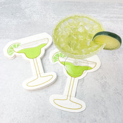 Margarita Jumbo Shaped Napkins