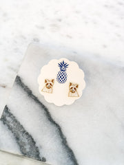 Signature Pet Enamel Studs by Prep Obsessed - Yorkshire Terrier