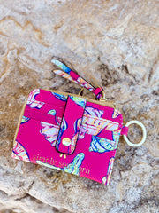 Printed Key ID Wallet by Simply Southern - Shells