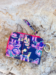Printed Key ID Wallet by Simply Southern - Butterflies