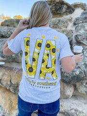 'Virginia' Sunflower Short Sleeve by Simply Southern