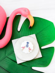 Flamingo Signature Enamel Studs by Prep Obsessed