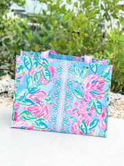 XL Market Shopper Tote by Lilly Pulitzer - Totally Blossom