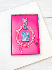 Charging Cord Set by Lilly Pulitzer - Beach You To It