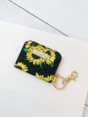 Printed ID Wallet by Simply Southern - Sunflowers