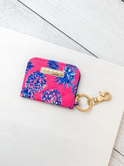 Printed ID Wallet by Simply Southern - Pineapple