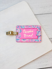 Luggage Tag by Lilly Pulitzer - Don't Be Jelly