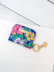 Printed ID Wallet by Simply Southern - Hibiscus