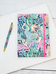 Journal with Pen by Lilly Pulitzer - Bringing Mermaid Back