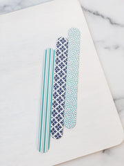 Beauty In Blue Nail Files - Set of 3