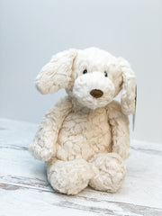 Cream Putty Pup Stuffed Animal