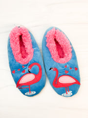 Snoozies! Slippers - Flamingo