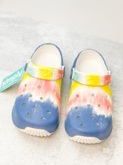 Dusk Printed Clogs by Simply Southern