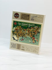 The Grand South 500 Piece Jigsaw Puzzle