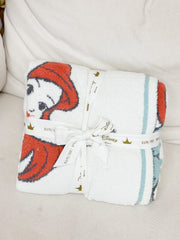 CozyChic The Little Mermaid Toddler Blanket by Barefoot Dreams