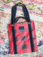 Bagette Market Tote by Scout Bags - Flanel No 5