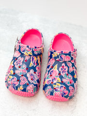 Butterfly Printed Clogs by Simply Southern