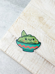 Guacamole Heavy-Duty Sticker by Squishable